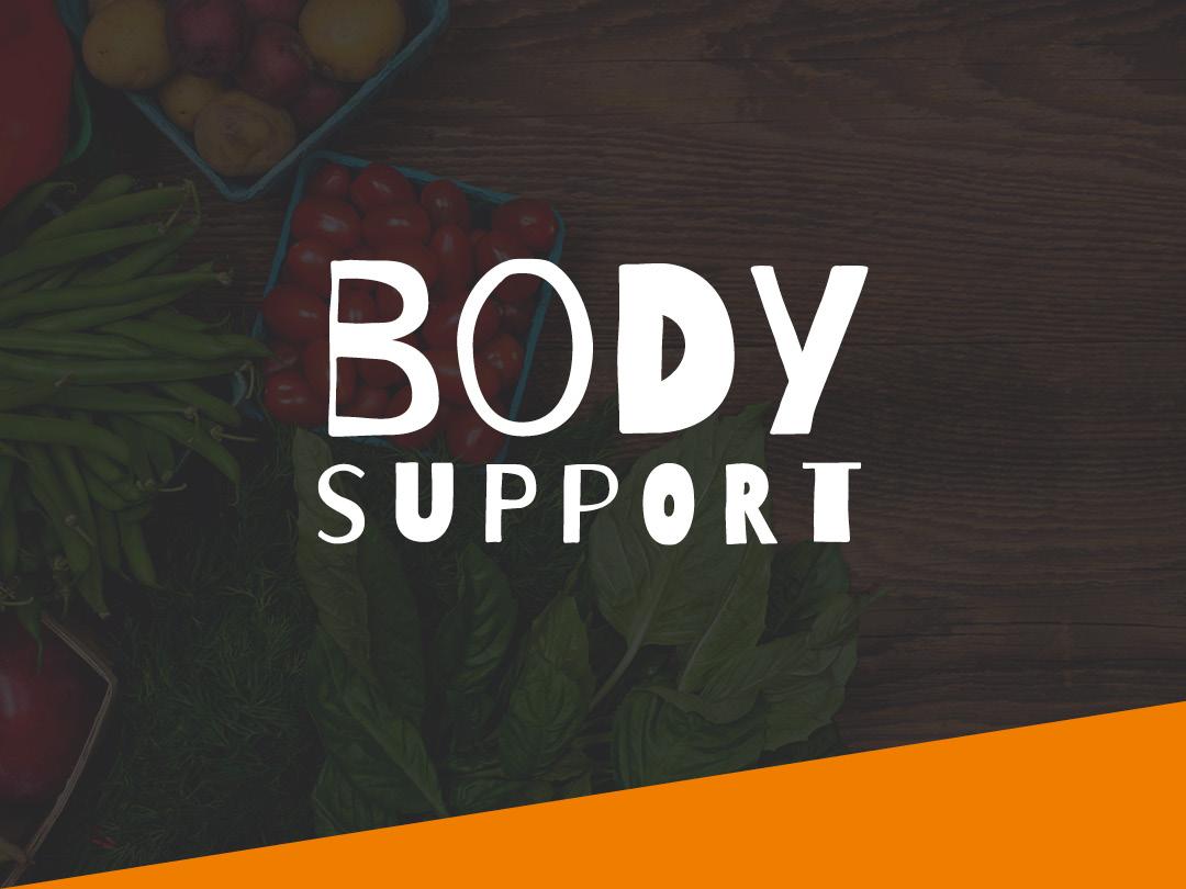 Body Support logo